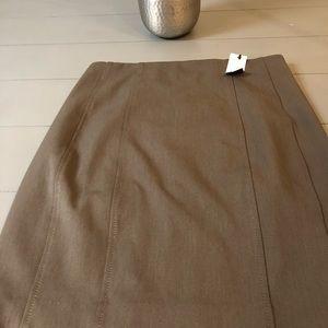 Ladies brown express skirt size 10